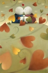 Autumn Love by Doug Hyde -  sized 20x30 inches. Available from Whitewall Galleries